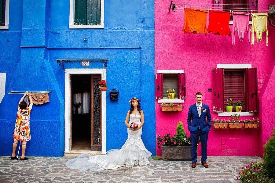 Als Hochzeitsfotograf in Italien, Burano - RAMAN-PHOTOS