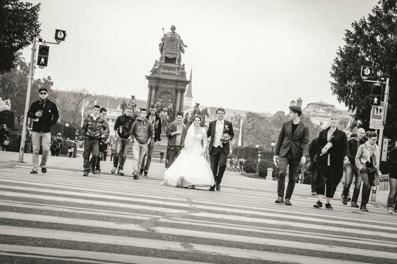 Beispiel: Kreative Hochzeitsfotografie, Foto: Hochzeitsfotograf Dieter Hawlan.