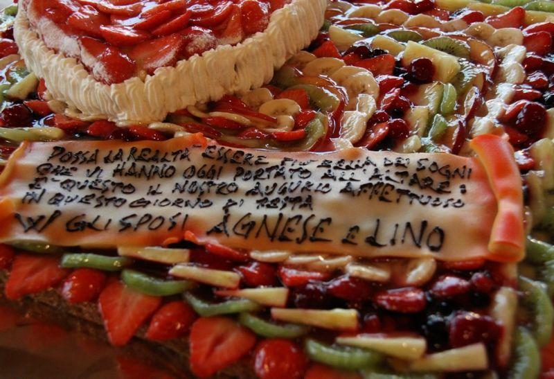 Dettagli di torta Nuziale