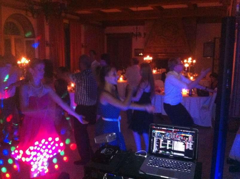 Beispiel: Blick vom DJ-Pult, Foto: Hochzeits DJ Dany.