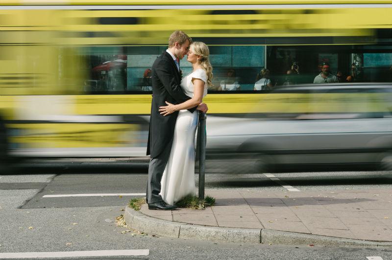Beispiel: Kreative Hochzeitsfotos, Foto: Patrick Ludolph.