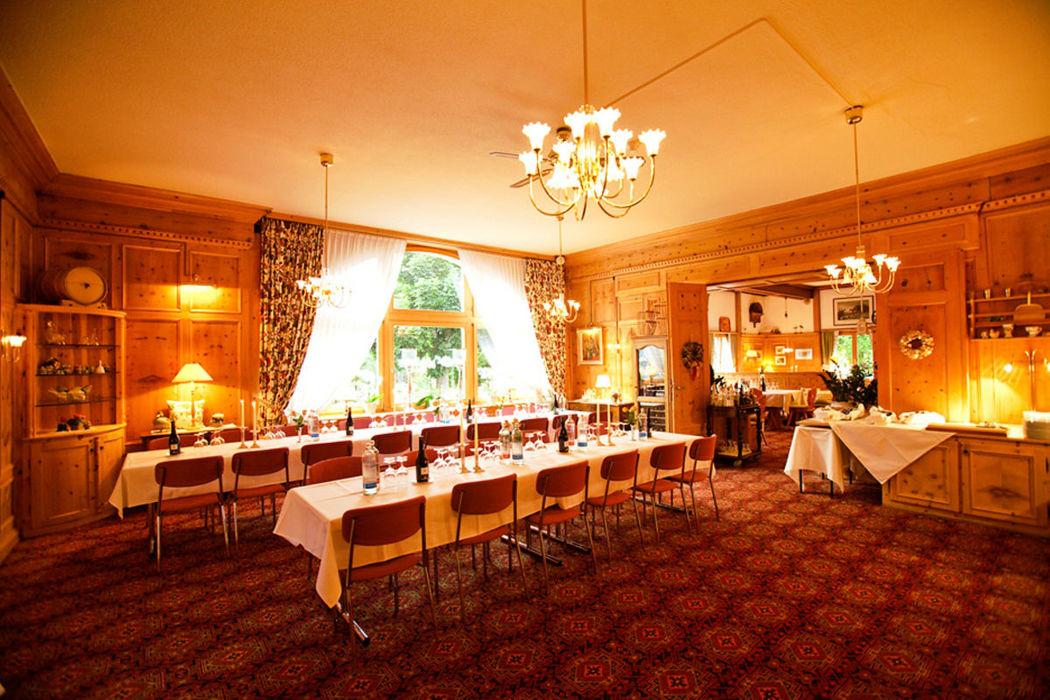 Beispiel: Festtafel, Foto: Hotel Villa Post.