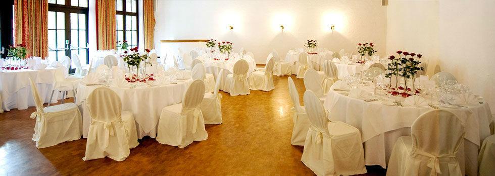 Beispiel: Eindruck von den Räumlichkeiten, Foto: Schloss Lehen.