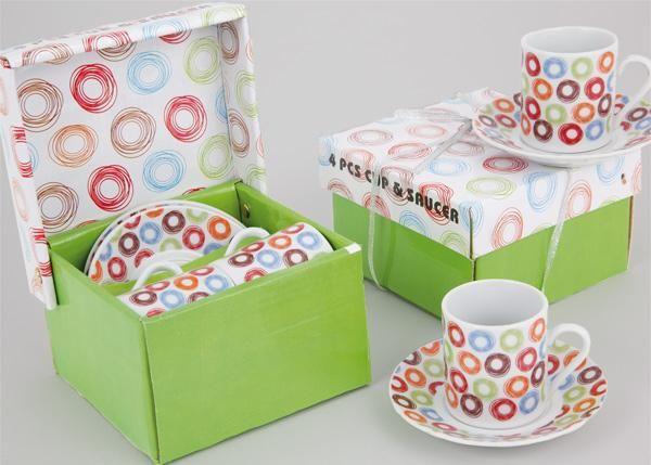 Invitaciones de Boda Diferentes. Tazas de café
