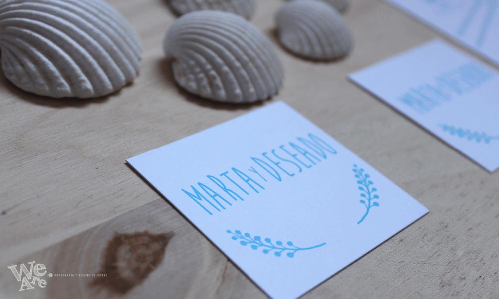 Invitaciones de  boda Mediterráneas