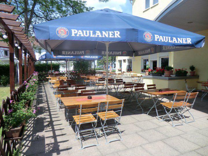 Beispiel: Biergarten, Foto: Best Western Parkhotel Krone.