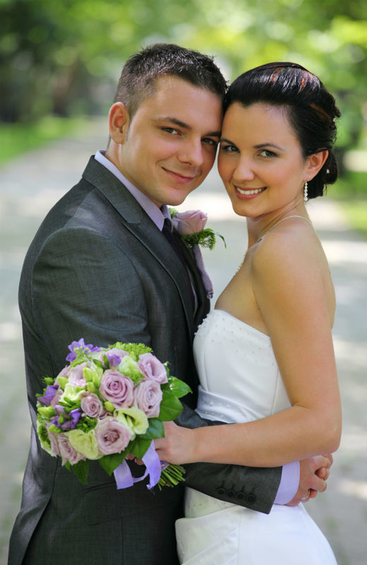 Beispiel: Hochzeitsfloristik, Foto: myflower.