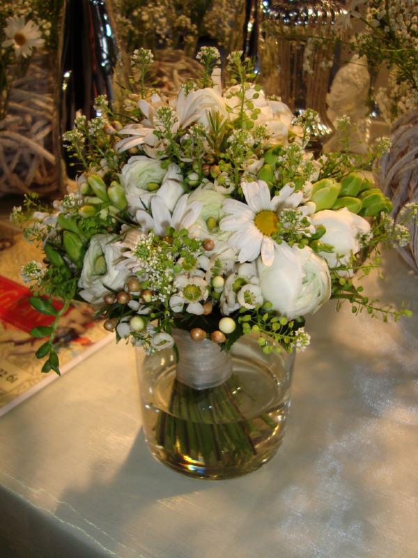 Beispiel: Tischsträuße, Foto: Blumen Gran.