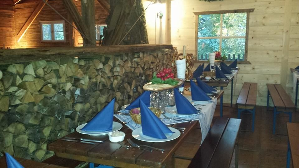 Beispiel: Tischdekoration, Foto: Kastaniengarten.