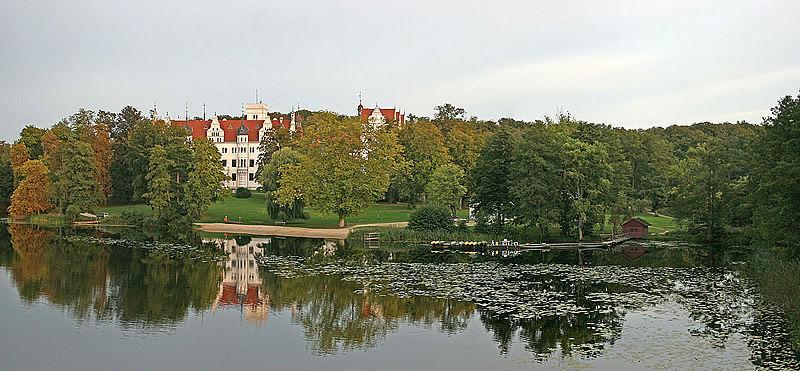 Beispiel: Schlosspark, Foto: Schloss Boitzenburg.