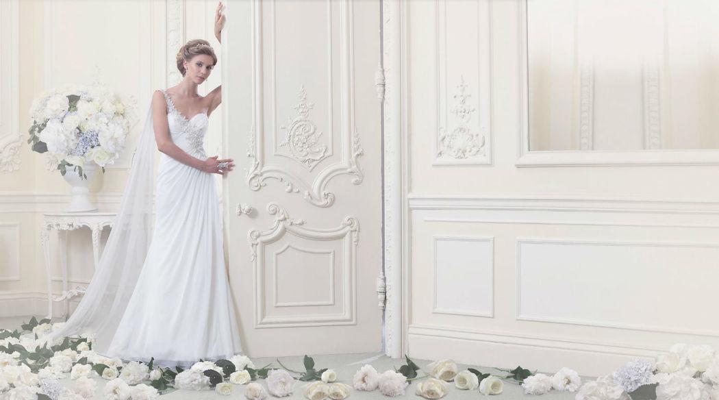 Beispiel: Brautkleid, Foto: Dominic Braut.