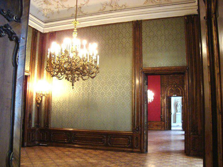 Beispiel: Grüner Saal, Foto: Moya Vienna.