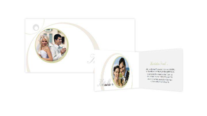 Beispiel: Danksagungskarten, Foto: Hochzeitskarten-Traum.