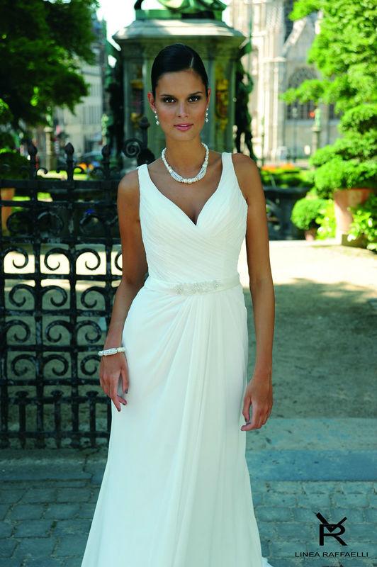 Beispiel: Individuelle Brautmode, Foto: Brautparadies Thun.