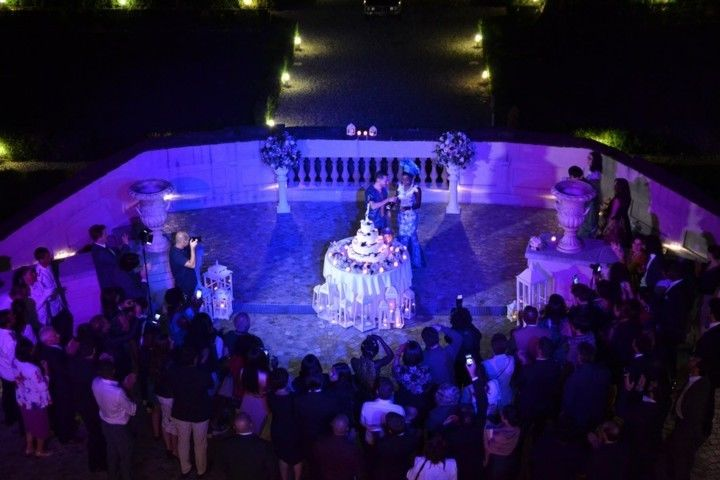 Wedding Cake @ Villa Bria