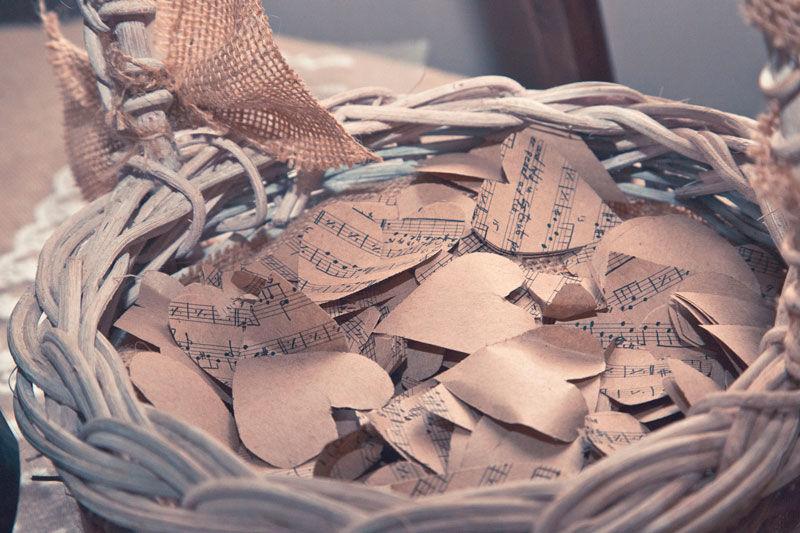 Confeti de partituras
