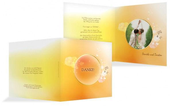 Beispiel: Einladungskarten mit Fotos, Foto: Hochzeitskarten- Paradies.