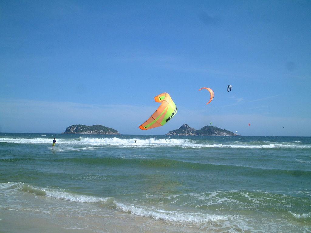 Brésil, l'autre pays du kitesurf