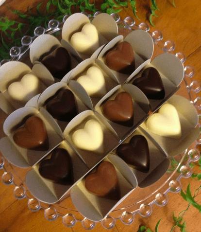 Gallette Chocolates - Bombons Coração