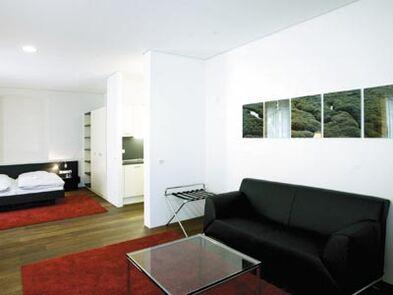 Beispiel: Zimmer im Gästehaus, Foto: Buhlsche Mühle.