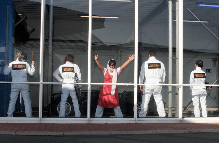 Beispiel: Bandmitglieder, Foto: CARWASH Groovestation.