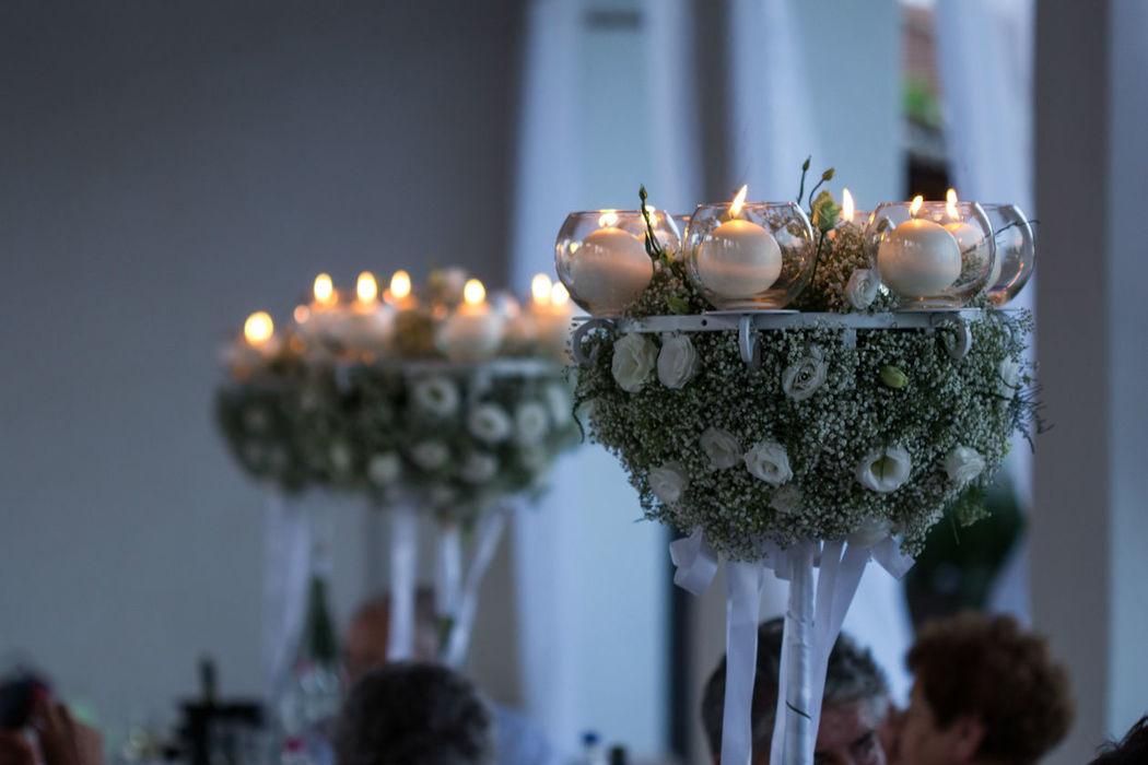 Magnolia - Wedding & Events Planner centro tavola Magnolia
