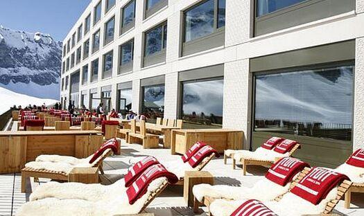 Beispiel: Terrasse, Foto: Hotel frutt LODGE & SPA.