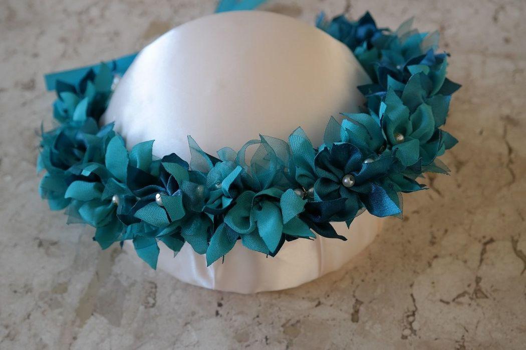 Coroa de Flores para Ensaio Fotográfico e/ou Daminhas