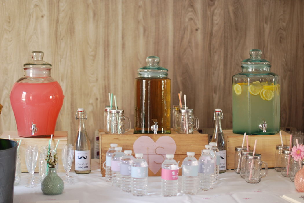 -Ma Sweet Table  Location bar à limonade -Location de décoration pour mariage  Vintage , Bohème- & tendance  Herault et Gard
