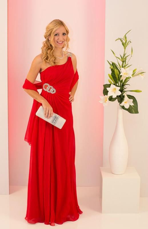 Beispiel: Elegante Abendmode, Foto: Mode Wicky.