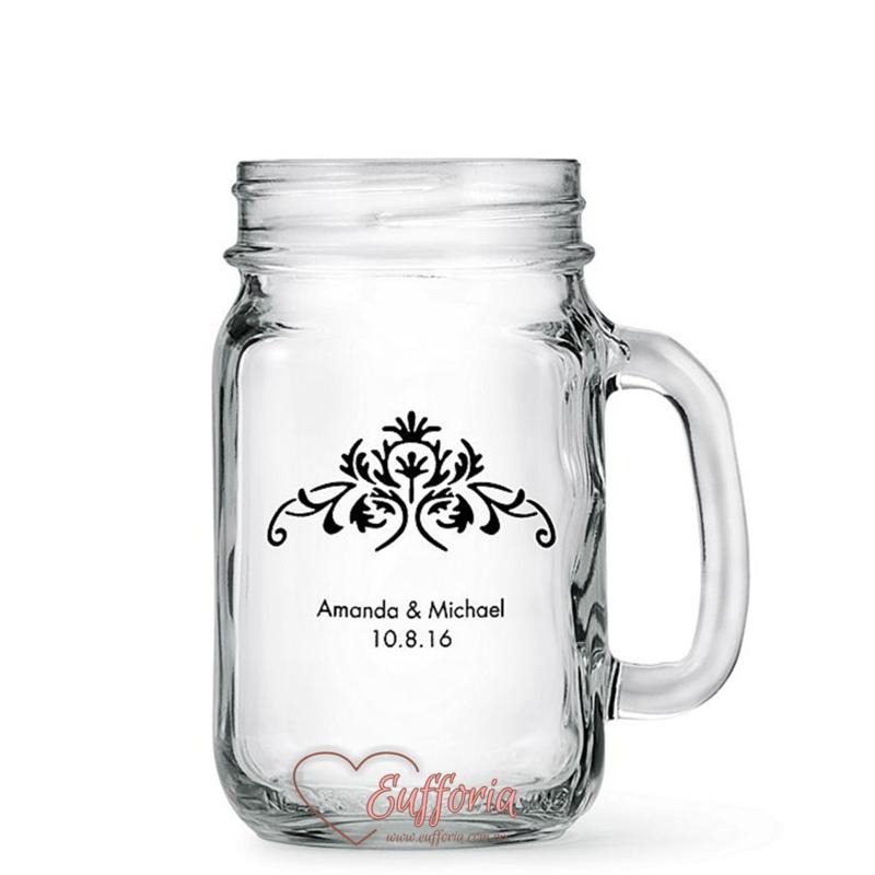 Vaso tipo Mason Jar 1