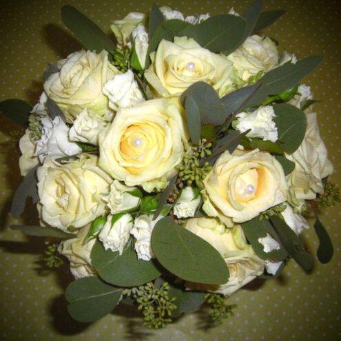 Beispiel: Brautstrauß, Foto: Blumenkiste.