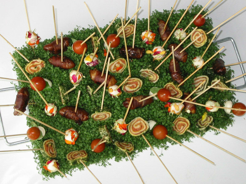 Beispiel: Fingerfood, Foto: Kaiserschote Feinkost Catering.