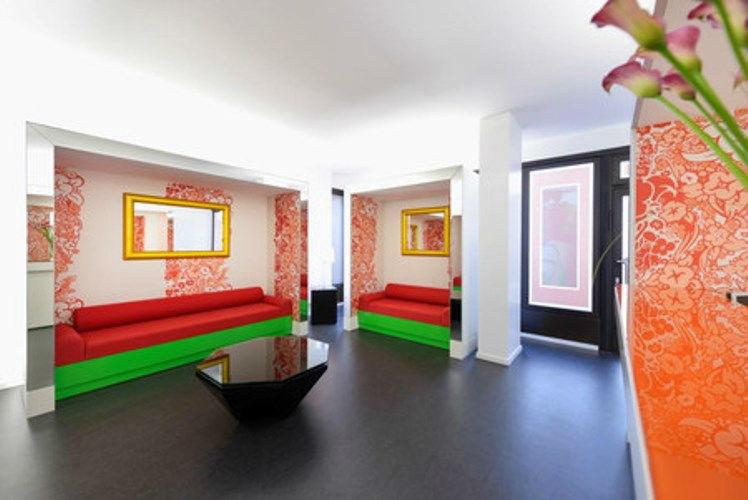 Beispiel: Eingangsbereich, Foto: Wax in the City Hannover.