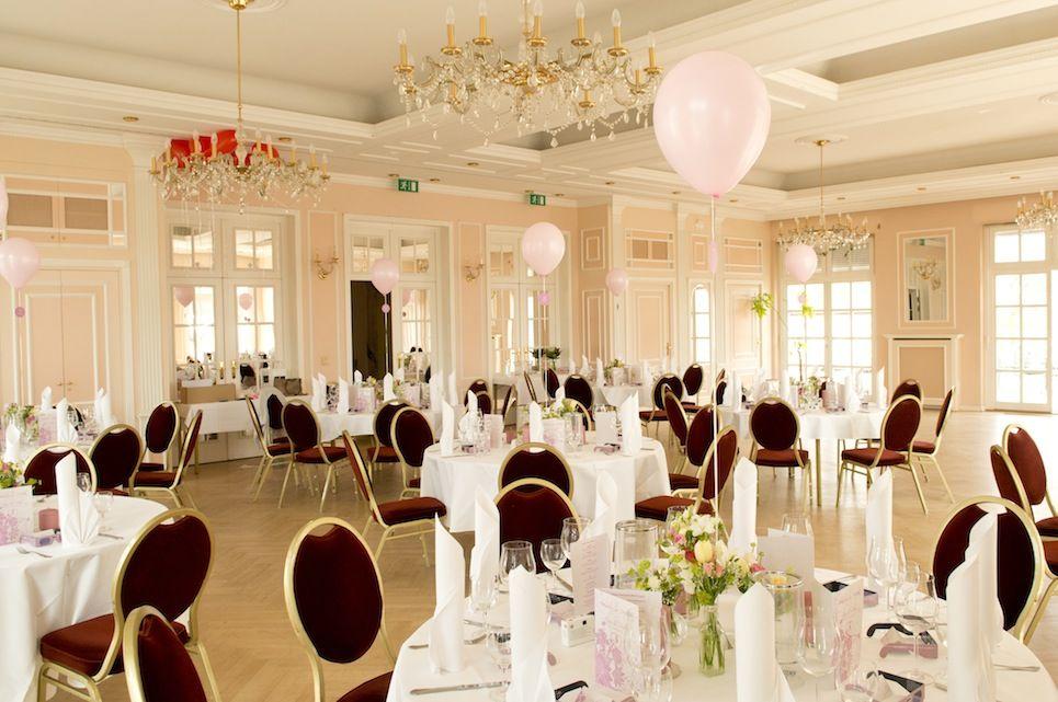 Festsaal im Schlosshotel, Foto: Annette Riedl für Engel 07