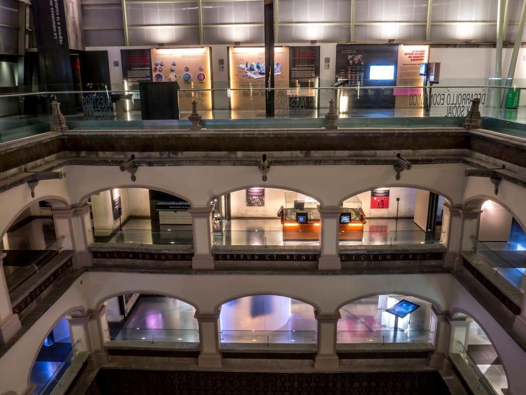 Vista del interior del Museo Interactivo Interactivo de Economía.