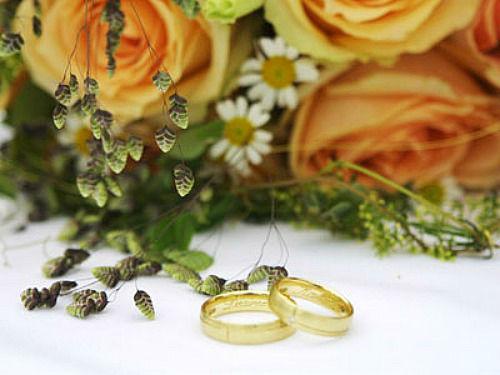 Beispiel: Hochzeit, Foto: Blütenraum.