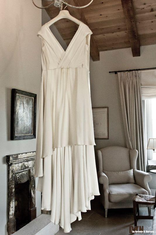El vestido de Nuria  de la sencillez