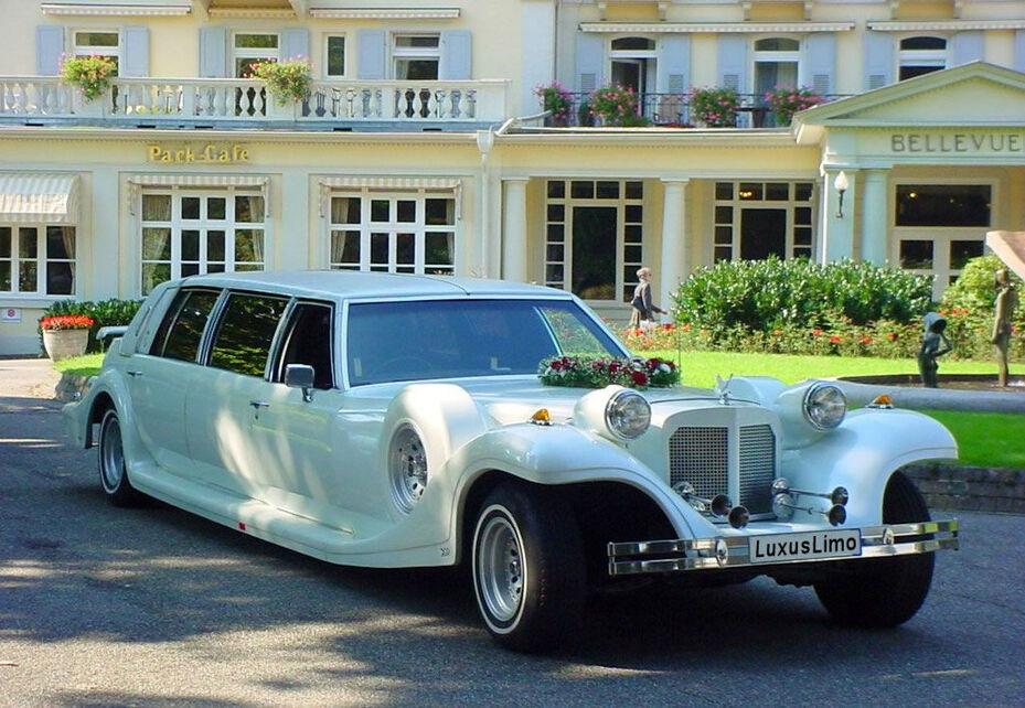 Beispiel: Hochzeitslimousine, Foto: LUXUSLIMO.DE Kehl.