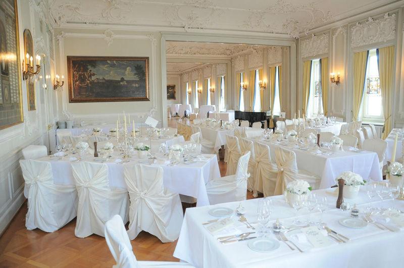 Beispiel: Hochzeitstafel, Foto: Zunfthaus zur Meisen.