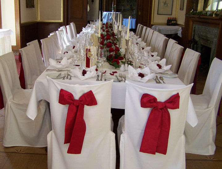 Beispiel: Hochzeitstafel, Foto: Haus Sanssouci.