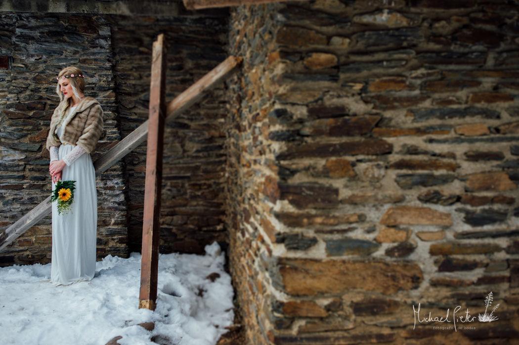 Sesión de Inspiración en la nieve www.mpfoto.es