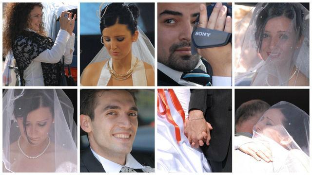 Beispiel: Portrait des Brautpaares, Foto: Zurich Wedding Photography.