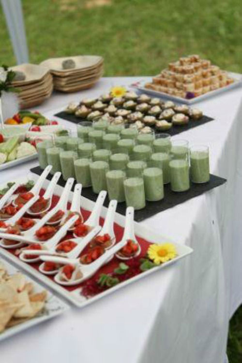 Beispiel: Buffet, Foto: Art of Wedding.