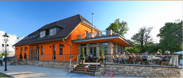 Beispiel: Außenansicht, Foto: Elbelandhaus Magdeburg.