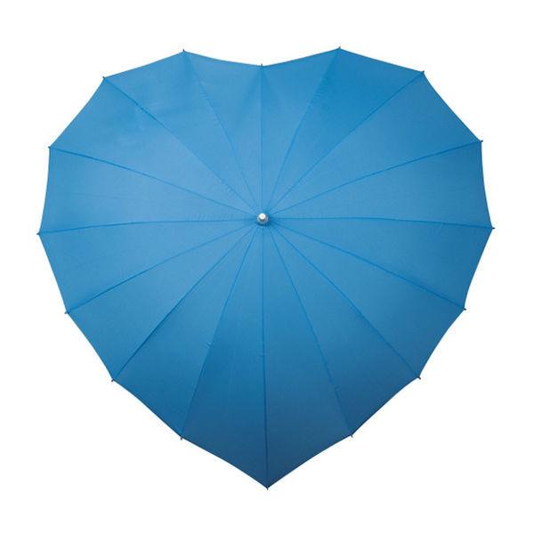 Parasolki ślubne w kształcie serca