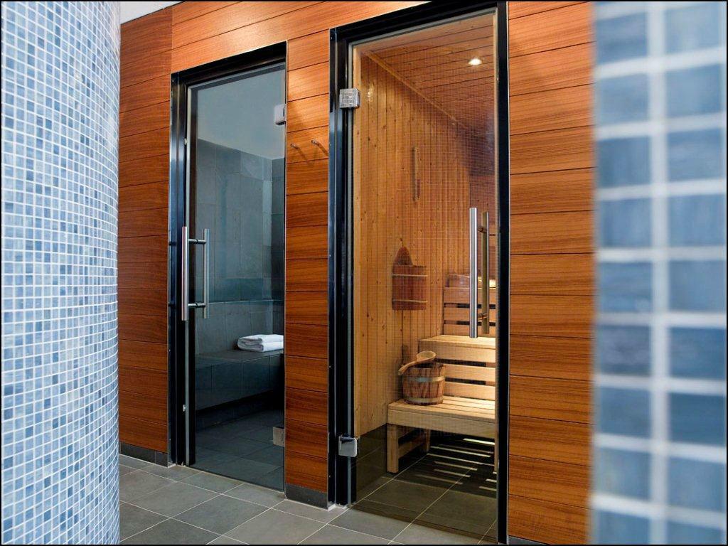 Beispiel: Club Olympus – Sauna & Dampfbad, Foto: Park Hyatt Zürich Hotel.