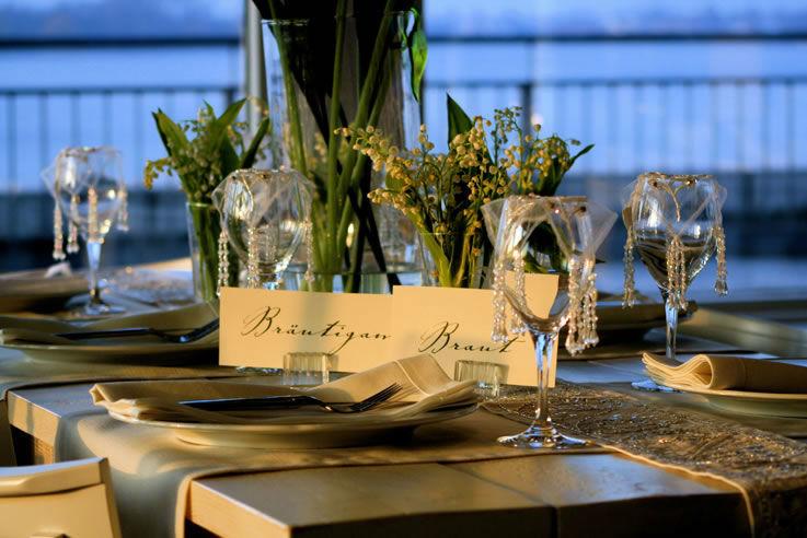 Beispiel: Vielfältiges Angebot von Dekoration bis Service, Foto: Brunckhorst Catering.