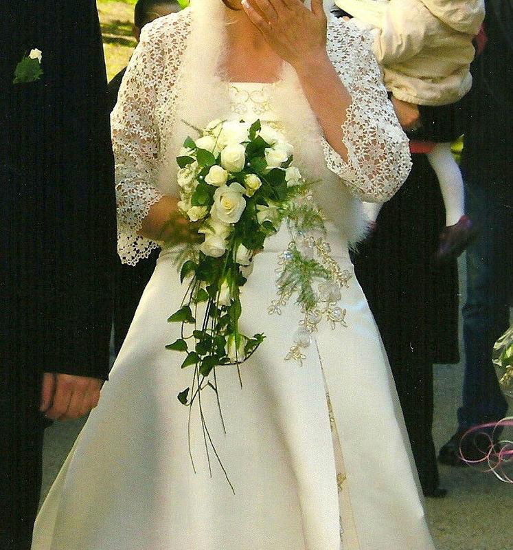 Beispiel: Brautstrauß, Foto: Blumenelfen Griessmaier.