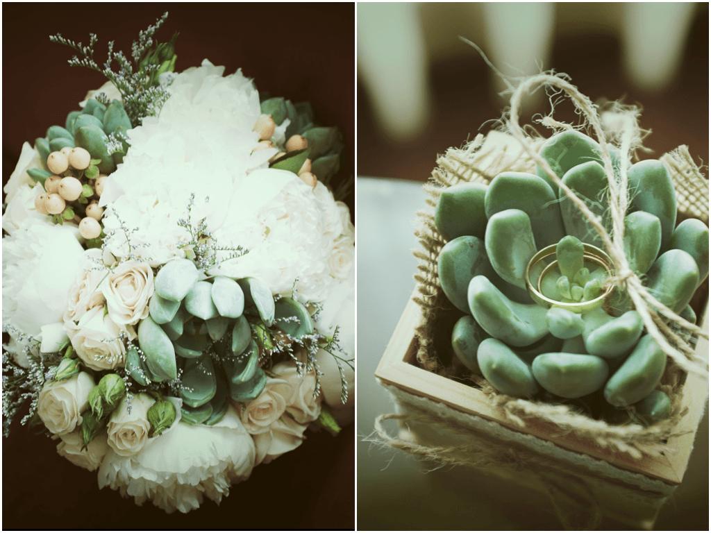 I&A | Bouquet | Porta alianças | Ideias de Veludo ®